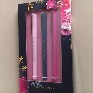 Set of 3 Pens